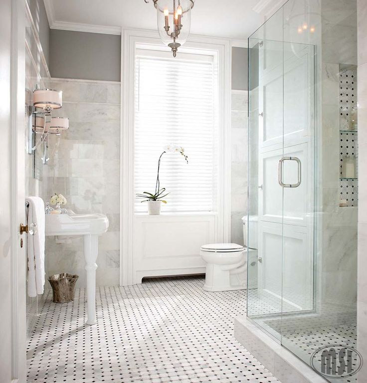 Greecian White 8x12 Polished Bathroom Pinterest