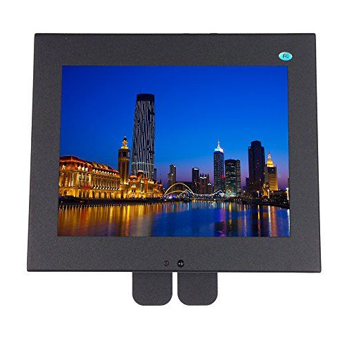 """101AV 8"""" Professional Security Monitor BNC  VGA IN TFT LED Display Metal 4:3 for Vehicle Home Office Store -  http://www.wahmmo.com/101av-8-professional-security-monitor-bnc-vga-in-tft-led-display-metal-43-for-vehicle-home-office-store/ -  - WAHMMO"""