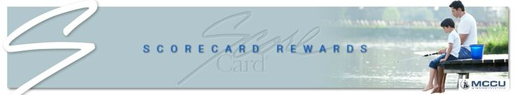 With our VISA Credit Card you can redeem fun gifts with the Scorecard Rewards Program