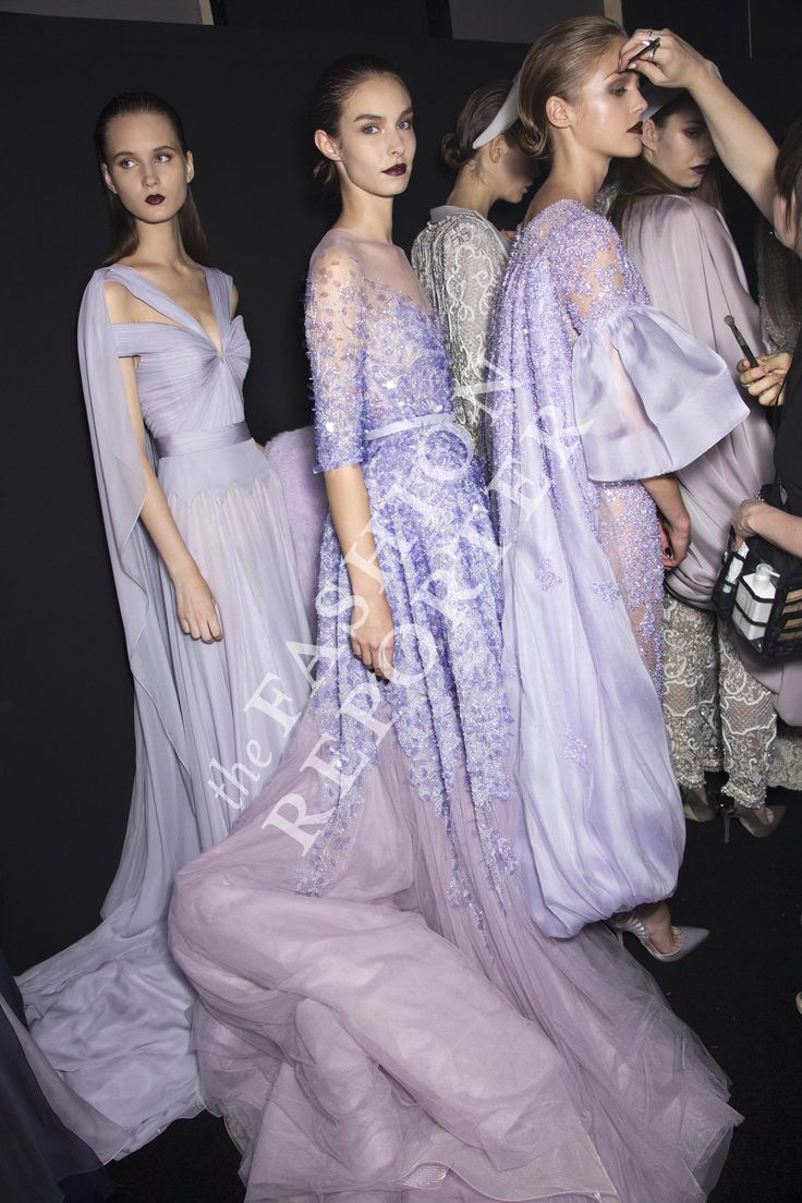 Ralph & Russo Backstage | Haute Couture Fw14-15 | Ph. Antonello Trio
