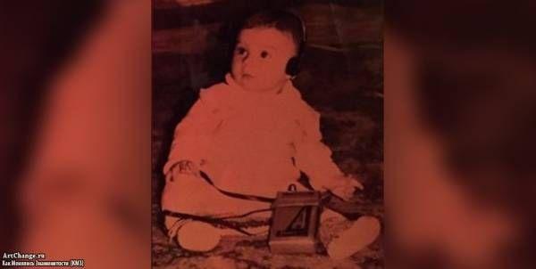 Сергей Лазарев в раннем детстве