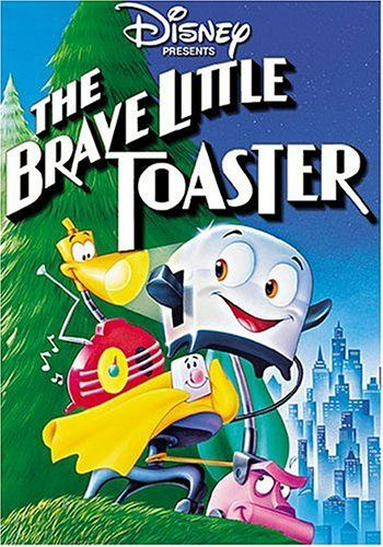 This is my movie jam right here! The Brave Little Toaster ... favorite childhood movie!!!
