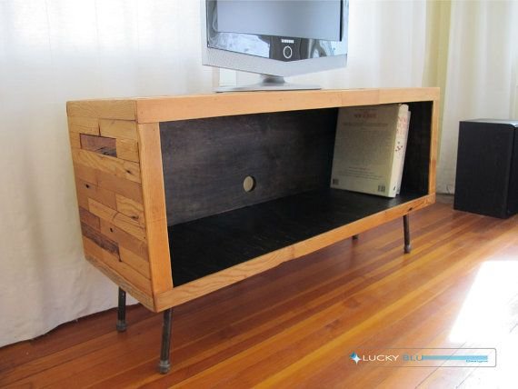 Media Console / TV Stand  SOHO Collection Free by LuckyBluDesigns