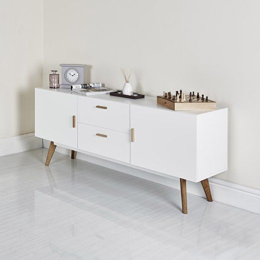 Modern Scandinavian White Retro Home Furniture Range with