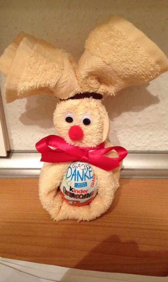 Ein tolles Geschenk zu Ostern und so einfach selbstgemacht..