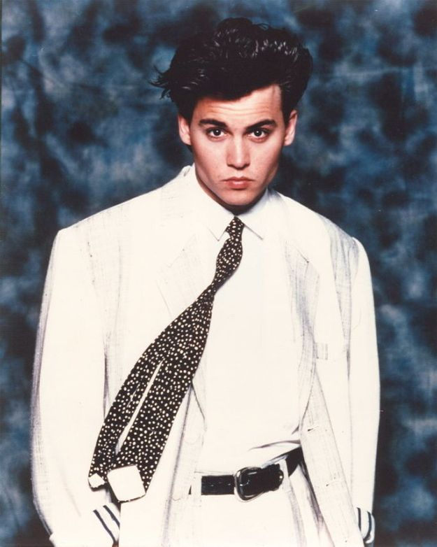 That time he took this photo | Johnny Depp's Awesomely Bizarre Photo Past
