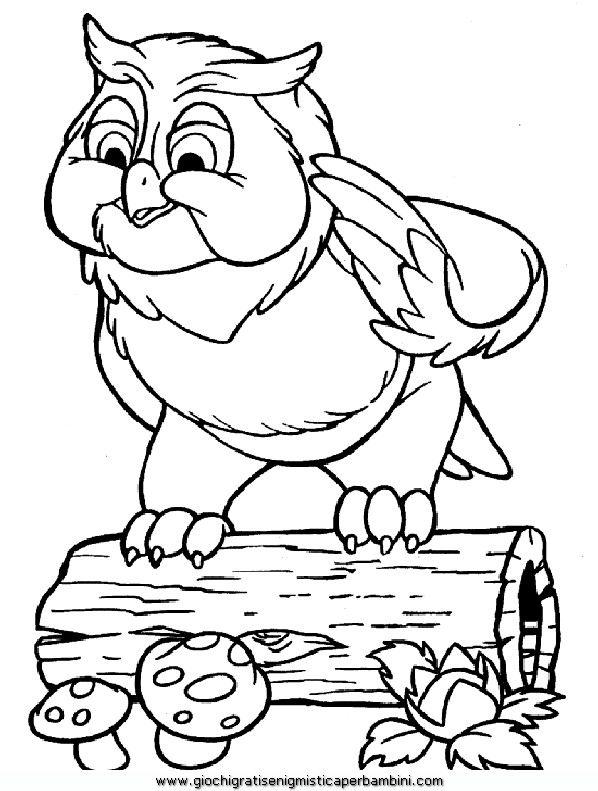 bambi_c65 Disegni da colorare per bambini