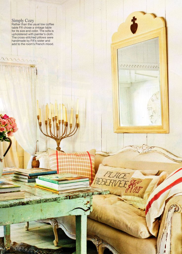 satees country style magazine decorating french family room design
