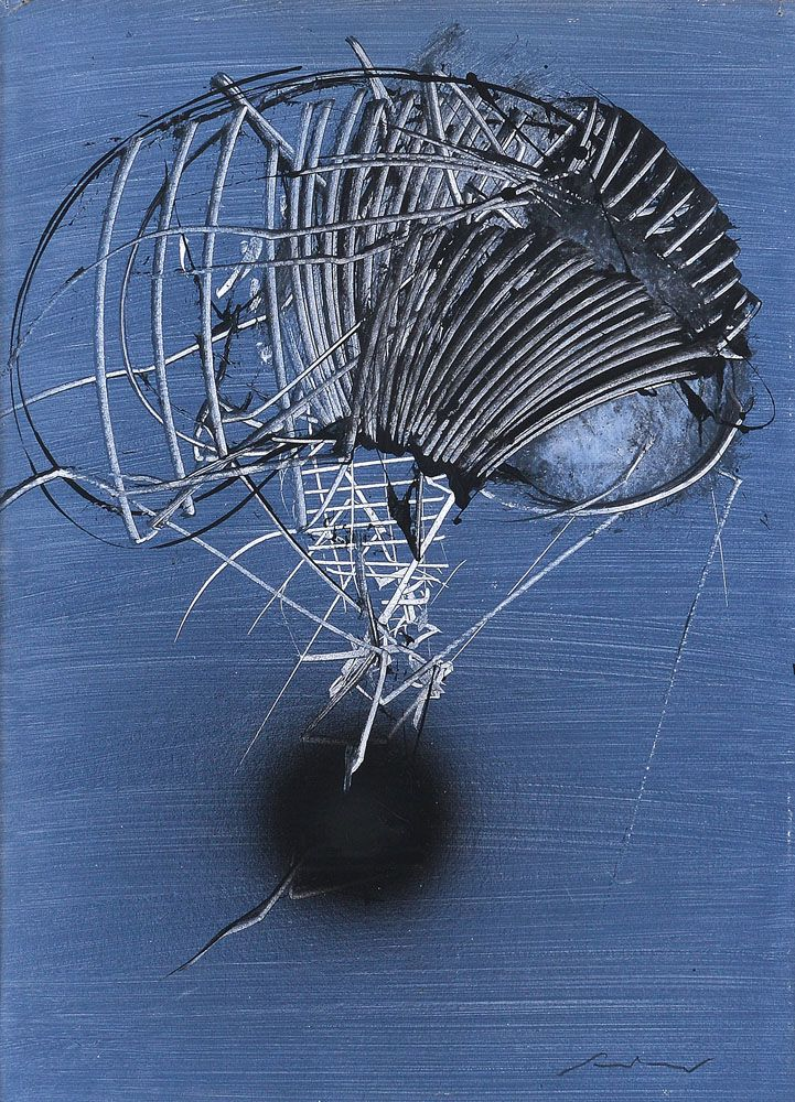 Thunderstruck (Emilio Scanavino (Italian, 1922-1986), Immagine...)