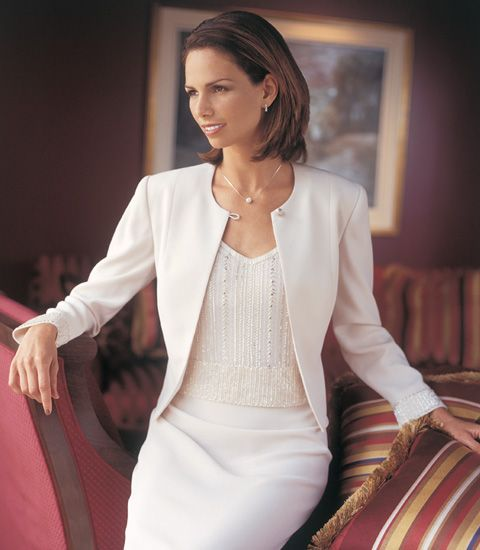 A classic look for the classy Mother of the Bride!