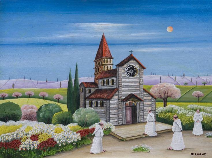Emilio Giunchi, in arte Zenone       Emilio Giunchi, pittore naif molto conosciuto in Italia e all'estero, è nato ad Arezzo, (Italia) ...