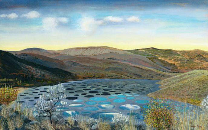 Le Spotted Lake dans le désert d'Osoyoos au Canada   Globe-Trotting, Blog de…