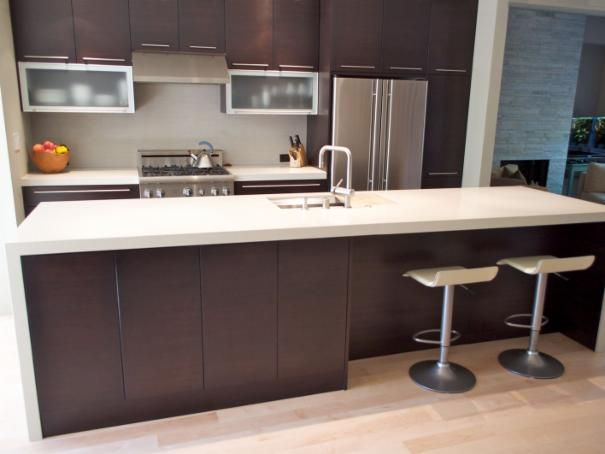 Photo of Brown Contemporary Kitchen project  by Sven Lavine Architecture
