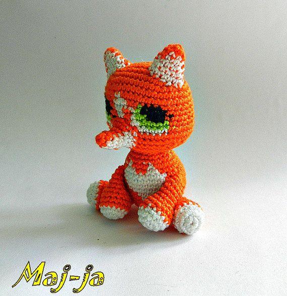 Crochet fox   Crochet animals  crochet dolls  by MajjaCrochet