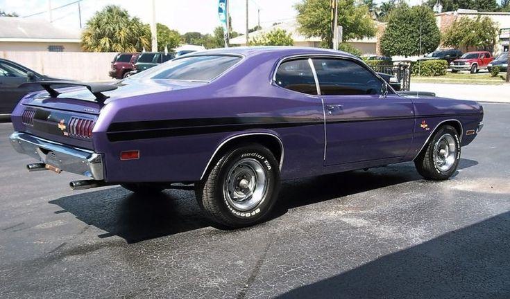 photos of 1971 dodge demon | Example of Plum Crazy paint on a Chrysler 1971 Dodge Demon