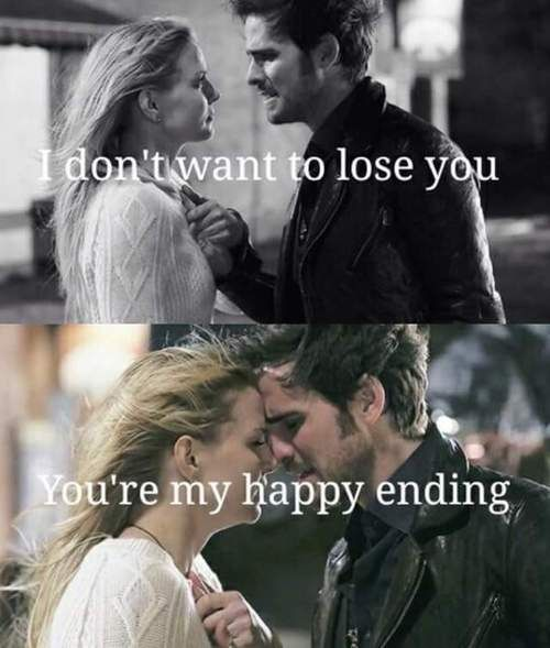 "So I know it's not posted as one, but it's a ""Rapunzel/Eugene-Hook/Emma"" parallel. When Eugene was like, ""You were my new dream"" (not on this season yet) D:"