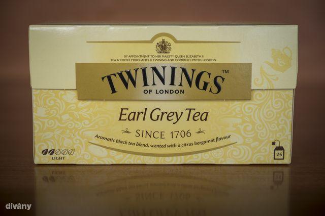 twinings earl grey tea (a teaszakértő szerint jó)