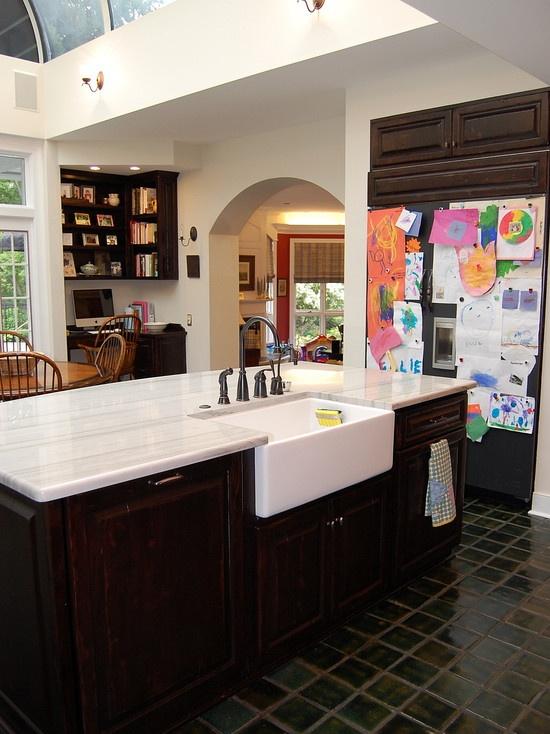 24 best Kitchen - sink on island images on Pinterest | Dream ...