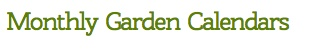 http://extension.oregonstate.edu/gardening/calendar#top    The monthly gardening calendars are produced by OSU Extension. Each calendar provides reminders of key garden chores, such as fertilizing, pest control, planting, and maintenance
