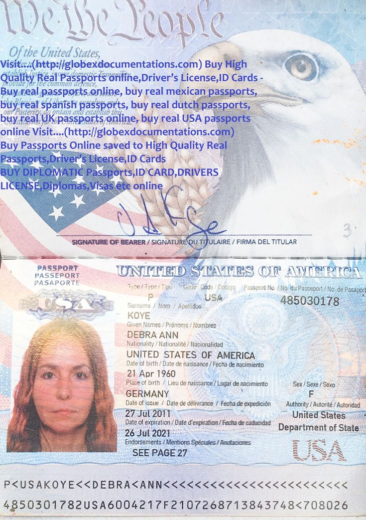 High Quality Driver's License online,ID Cards online,Driver's License online,ID Cards Real Passports,Driver's License,ID Cards....(http://globexdocumentations.com)   Visit....(http://globexdocumentations.com) Buy High Quality Real Passports online,Driver's License,ID Cards - Buy real passports online, buy real mexican passports, buy real spanish passports, buy real dutch passports, buy real UK passports online, buy real USA passports online Visit....(http://globexdocumentations.com) Buy…
