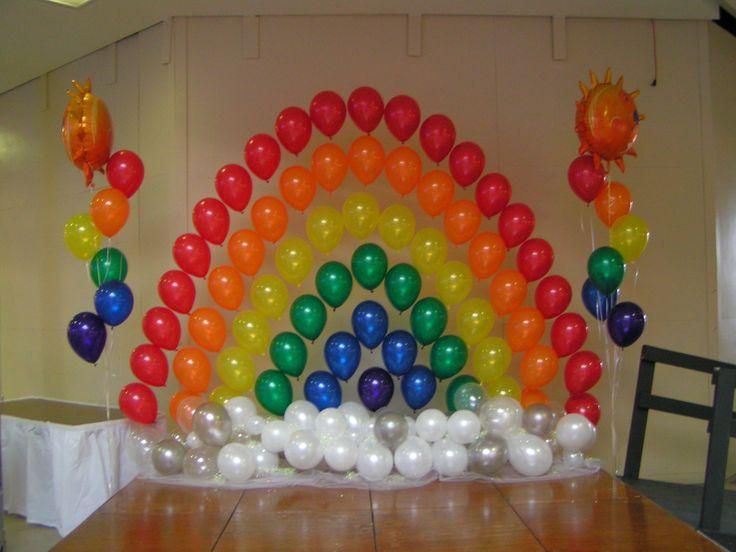 Beautiful Balloon Rainbow...