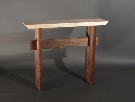 Custom Statement Hall Table by Mokuzai Furniture | Hatch.co