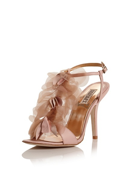 I have these Badgley Mischka shoes wore them once and now they don't fit. My feet grew from being pregnant. Anyone want them?