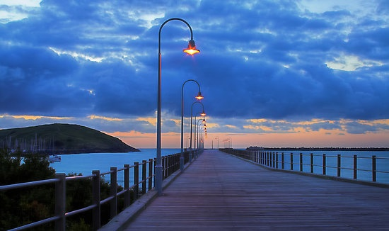 Blue Morning on the Coffs Harbour Jetty