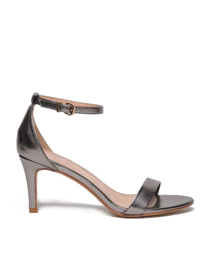 Top Secret S023331 Silver Sandals