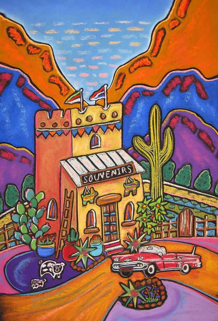 Jenny Willigrod, Original Southwest Art