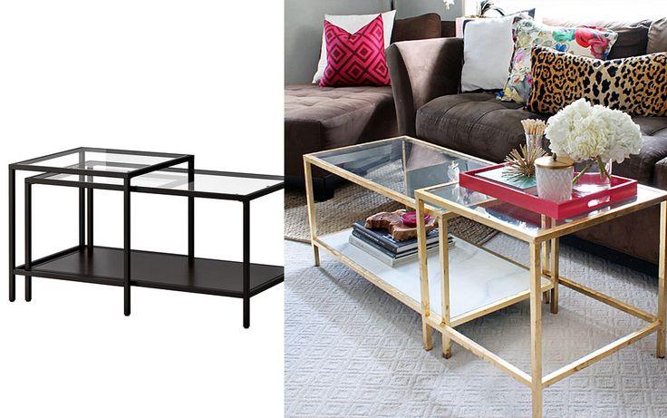 18 kreativa sätt att uppdatera dina ikeamöbler i vardagsrummet | Sköna hem