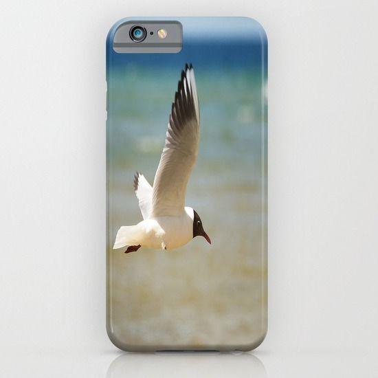 Seagull over the sea iPhone & iPod Case