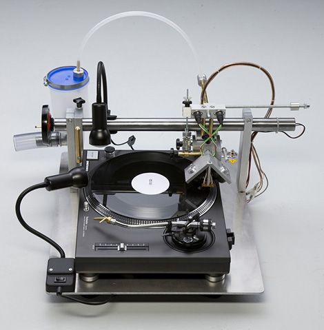 I don't approve of vinyl as a rule - but this is cool! VinylRecorder T560.