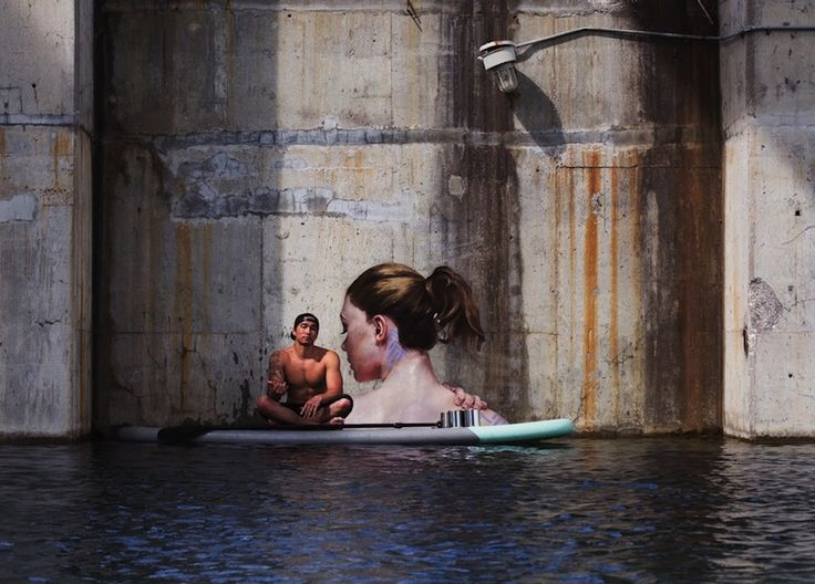 Stunning Seaside Murals by Street Artist Sean Yoro aka HULA in Hawaii » Design You Trust. Design, Culture & Society.
