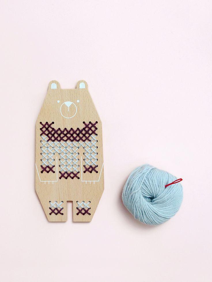 Animal Cross-stitch kit for kids