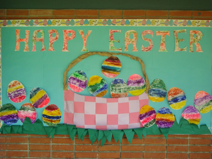Classroom Easter Ideas : Easter bulletin board ideas for school about