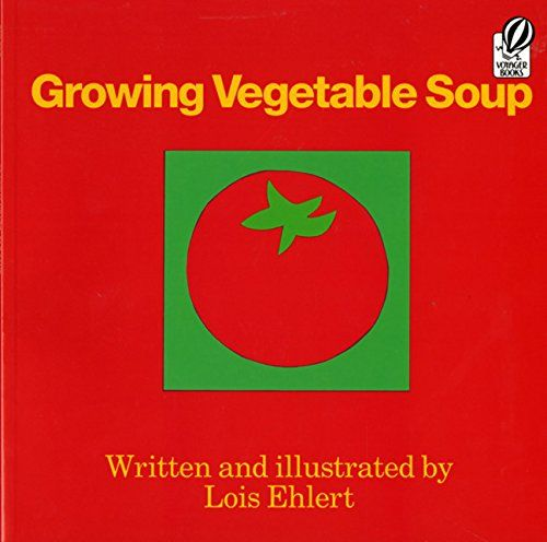 Get ready to start your garden this Spring by reading Lois Ehlert's Growing Vegetable Soup and making your own DIY Garden Markers