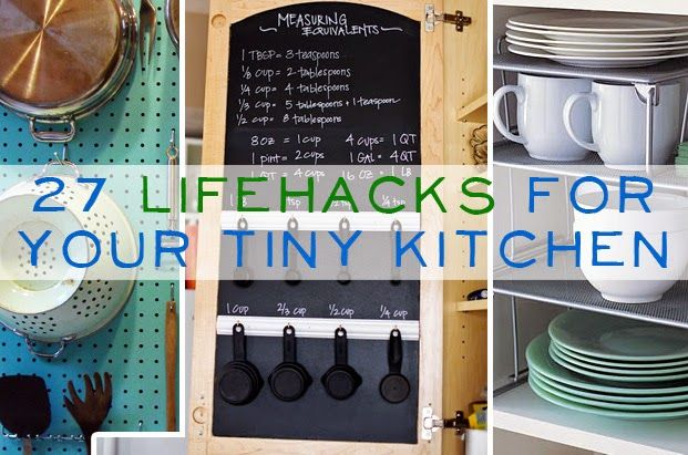 If you have a small kitchen, or would like to organize your kitchen here are some helpful tips.