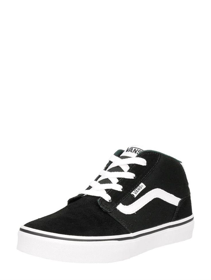 Vans YT Chapman Mid zwarte jongens sneakers