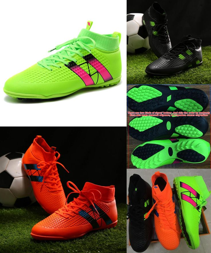 [Visit to Buy] Indoor futsal soccer boots sneakers men Cheap soccer cleats superfly original sock football shoes with ankle boots high hall #Advertisement