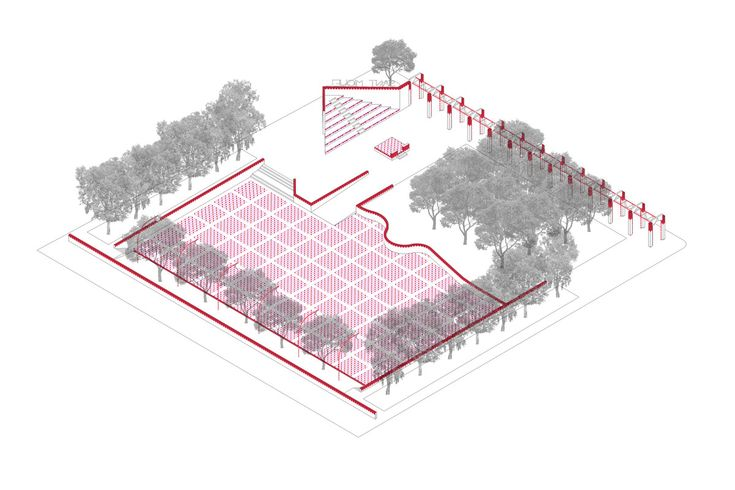 unparelld'arquitectes . Dressing up the Square .
