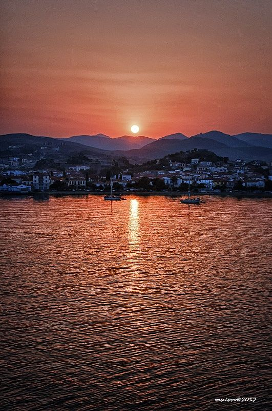 Limnos Island sunset