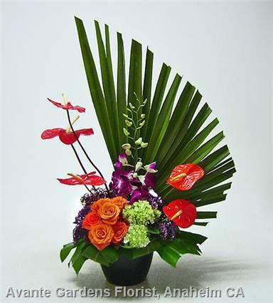 CSUF Front & Center Buffet Flowers
