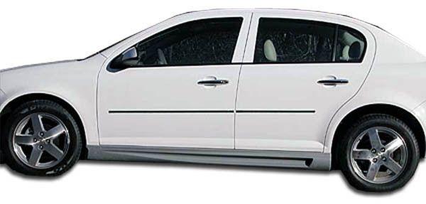 2005-2010 Chevrolet Cobalt 2007-2010 Pontiac G5 4DR Duraflex Racer Side Skirts Rocker Panels - 2 Piece