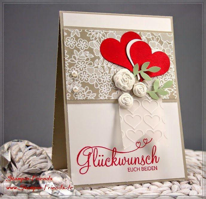 Stampin Up Karte Zur Hochzeit Perfekter Tag Match The Sketch