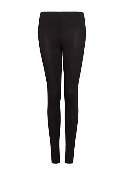 MANGO - Satin-finish leggings