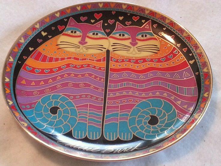 Laurel Burch Cat Food Bowls