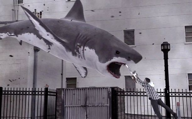 'Sharknado' is whirling into movie theaters for one night only -- Will you go?