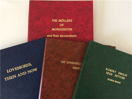 Family History Book Binding - Self Publishing Made Easy