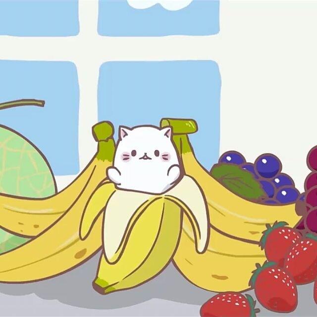 I'm gonna watch this show next season...that damn cat hide in a banana @bananya_anime #Bananya #ばなにゃ - callmealforque